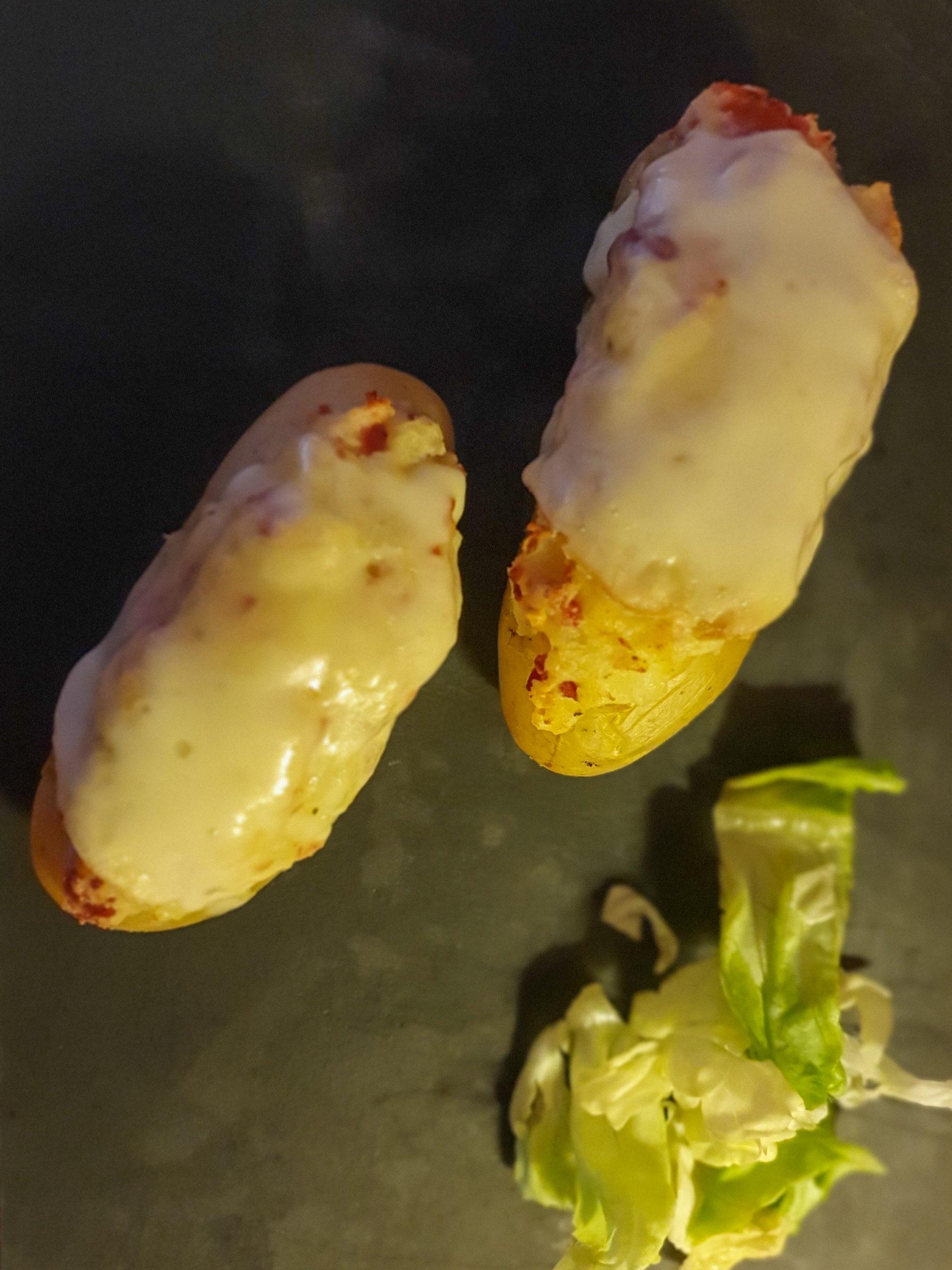 pommes de terre farcie façon raclette